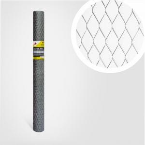 Сетка просечно-вытяжная оцинкованная  0,5мм; яч.17x40мм