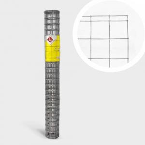 Сетка сварная оцинкованная  D1,8мм; яч.60х60мм; Усиленные края