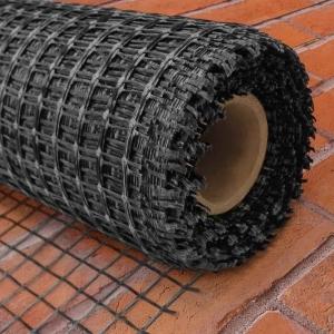 Базальтовая сетка LIHTAR 50кН/м; яч.25х25,  1х50м