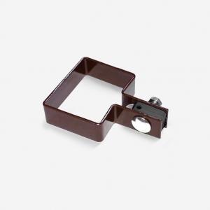 Крепёж для 3D забора 60х40 мм  коричневый