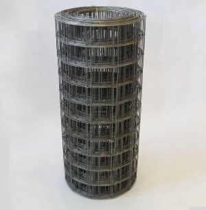 Сетка сварная 50х60х1,4мм в рулонах, размером  0,50х25м (бочонок)