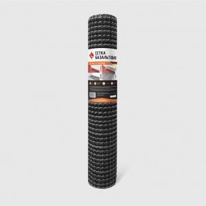 Базальтовая сетка (рулон 1х10м) LIHTAR; яч.25х25