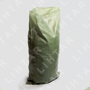 Мешок полипропиленовый для строительного мусора 550х950 мм; Цвет зеленый