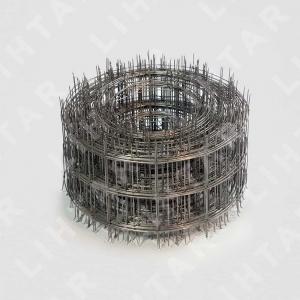 Кладочная металлическая сетка сварная 1.6х50х60 рулон 0.15х25м (Ёж)