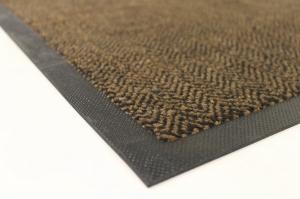 Коврик резиновый LIHTAR ZigZag коричневый