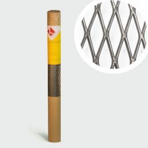Сетка просечно-вытяжная оцинкованная  0,4мм; яч.17x40мм